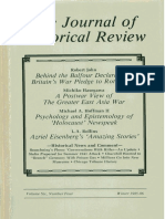 The Journal of Historical Review (Balfour Decl. Et. Al.)
