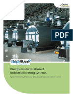 Energy Modernisation of Industrial Heating