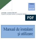 AstrologR Manual