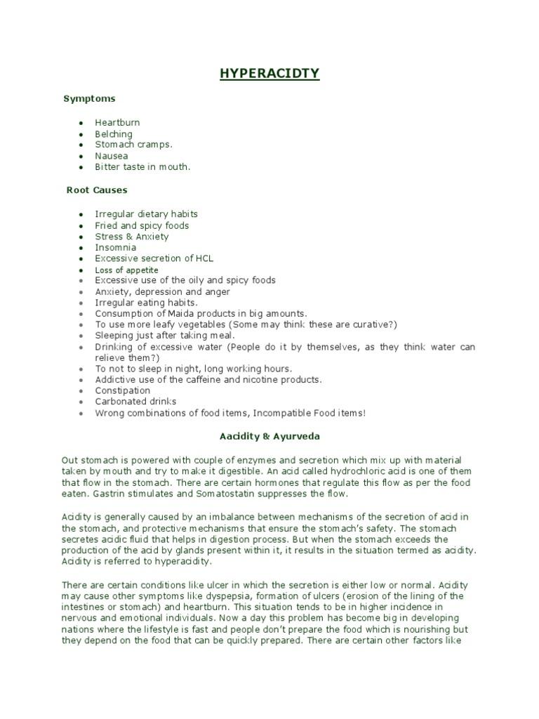 Hyper Acid Ty | Indigestion | Heartburn