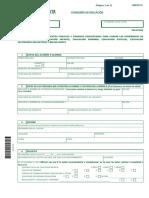 Impreso Solicitud Admision Anexo III