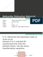 Mekanika Kekuatan Material Bab 9-10