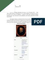Biography of Nostradamus