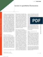 Accuracy and Precision in Quantitative Fluorescence