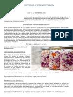 Probioticos y Fermentados