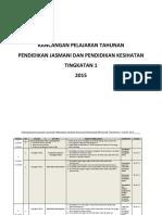 Rancangan Pelajaran Tahunan PJPK Ting.1 PBS