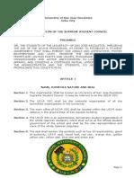 SSC Constitution