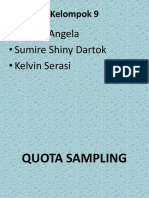 Kelompok 9 Quota Sampling