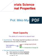 12. Thermal Properties