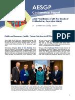 AESGP Conference Report Lisbon 2018