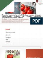Molecular Markers for Shelf Life Improvement Through Transcriptomic