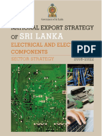 Electronic and Electrical Components Sector Strategy - National Export Strategy (2018-2022)