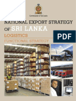 Logistics Sector Strategy - National Export Strategy (2018-2022)