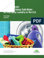 Cold Water Wash Technical Brief
