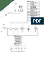 Diagrama de Control Eléctrico y Neumático
