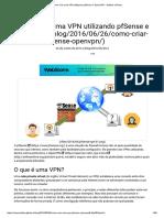 Como criar uma VPN utilizando pfSense e OpenVPN - Antônio Vinícius.pdf