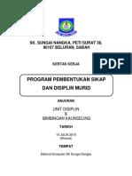 Kertas Kerja Program Disiplin