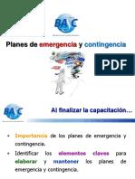Plan Contingencia y Emergencia MVMR