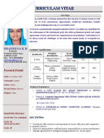 Shafeena CV