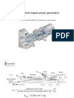 Turbojet Cycle Power Generation Cantwell