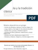 7. La Novela y La Tradicion Clasica