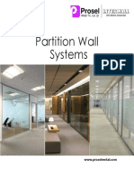 Partition Wall System New Catalog