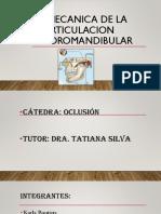 Biomecanica de La Articulacion Temporomandibular