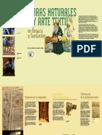 Fibras Naturales y Arte Textil en Boyaca y Santander
