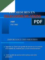 Mesures de Telecommunication