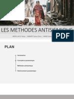 Méthodes Antisismiques douae