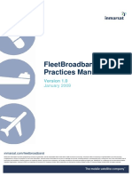 FleetBroadband Best Practices Manual