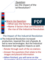 impact of the industrial revolution