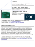 Tustin(1994)-Perpetuation of an Error. Journal of Child Psychotherapy.20(1), Pp.3-23