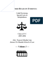 Evidence Project Volume1