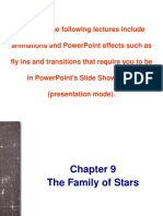 The Family of Stars