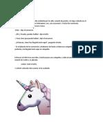 11 EL UNICORNIO FIESTERO Gloria.doc