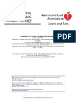 Chemokines in Vascular Dysfunction and Remodeling