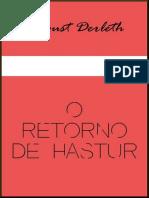 O Retorno de Hastur - August Derleth