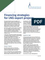 Report OFC 2013 FinancingStrategiesForLNG Export