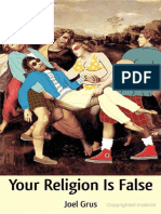 Your Religion is False - Joel Grus