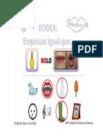 Concienca Fonologica Silabas Inciales B