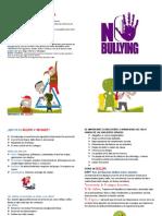 triptico bullyng