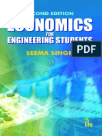 Economics for Engineering Stude - Singh Seema