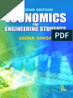 Economics for Engineering Stude - Singh Seema