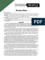 Benny h Inn Profile