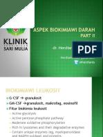 Aspek Biokimiawi Darah II