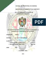 Obstaculos Para El Financiamiento de Mypes Quispe -Salazar