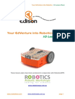 Edison Robot Curriculum