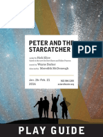 Peter and the Starcatcher Play Guide With Article
