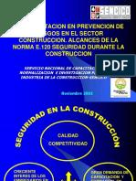 2.-La Capacitacion en Prevencion de Riesgos en El Sector Construccion